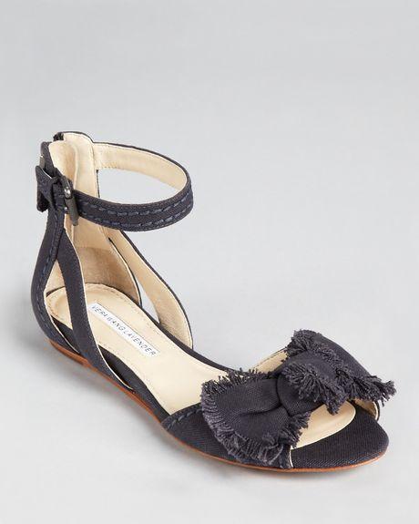 Vera Wang Lavender Sandals Leni Mini Wedge In Brown Taupe