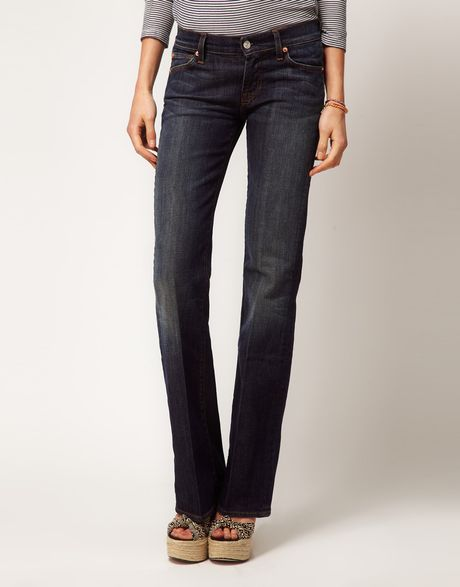 7 For All Mankind 7 For All Mankind Bootcut Jeans in Blue (newyorkdark) - Lyst