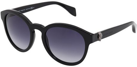 Alexander Mcqueen Sunglasses in Blue (b) - Lyst
