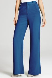 Alice + Olivia Pants High Waist Wide Leg - Lyst