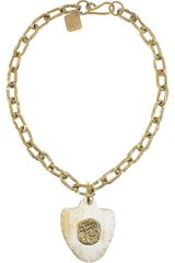 Ashley Pittman Horn Necklace - Lyst