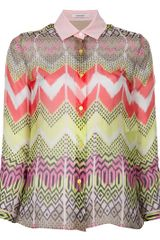 Carven Chemise Moussel Top