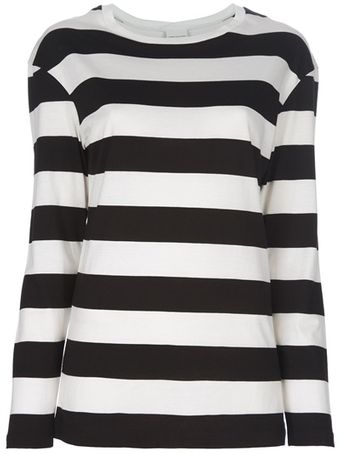 Dries Van Noten Stripe Top - Lyst