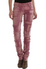 Isabel Marant Omeo Pant in Purple - Lyst