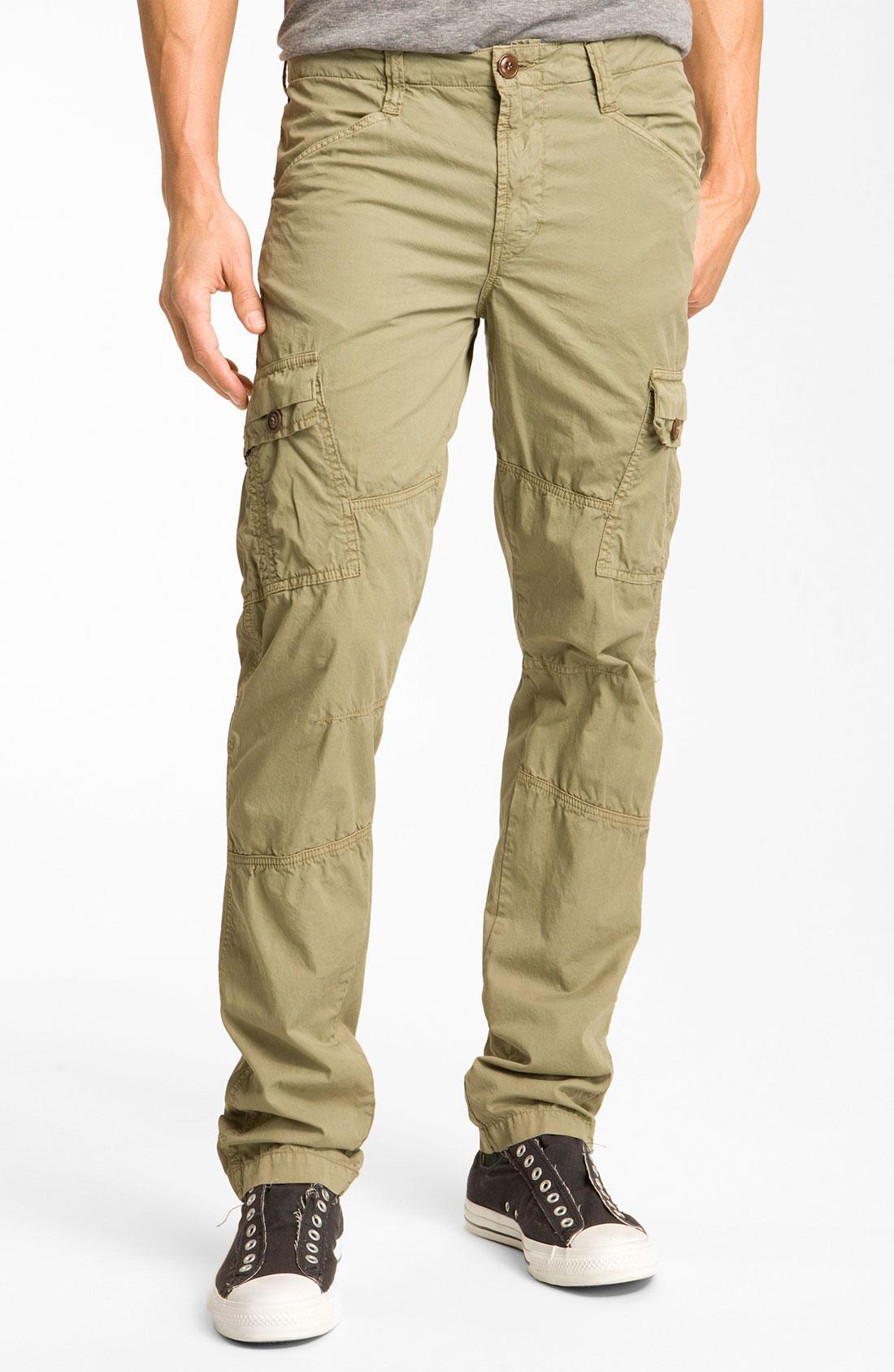 J Brand Trooper Slim Cargo Pants in Khaki for Men (vintage ...