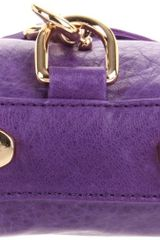 Rebecca Minkoff  Mini Mac H652i01c Clutch in Purple (violet) - Lyst