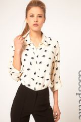 ASOS Collection Asos Petite Shirt with Elephant Print - Lyst