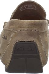 Clarks Edwin Loafer in Beige for Men (taupe) - Lyst