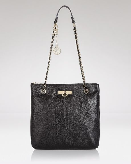 Dkny Convertible Shoulder crossbody Chain in Black - Lyst
