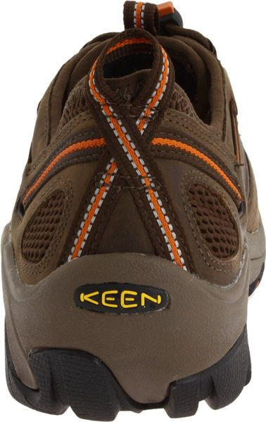 Keen Atlanta Cool Esd Steel Toe Work Shoe In Brown For Men