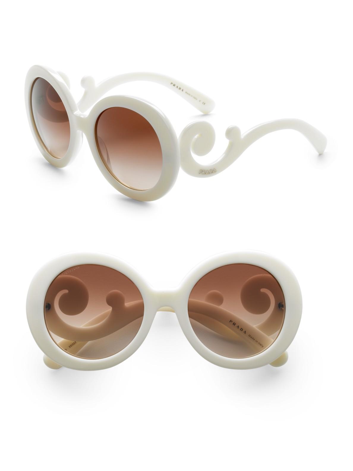 Prada Ivory Sunglasses
