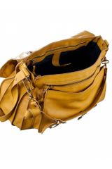 Proenza Schouler Ps1 Extra Large Leather in Yellow (mustard) - Lyst