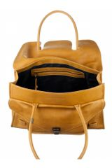 Proenza Schouler Ps1 Keep All Small Leather in Yellow (mustard) - Lyst