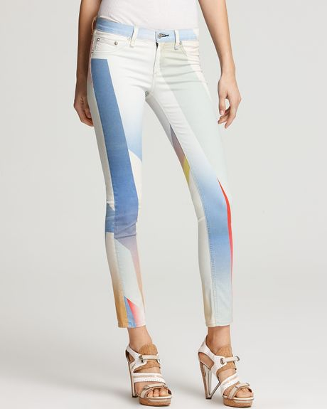 Rag & Bone The Printed Legging  in Multicolor (multi) - Lyst
