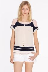 Tory Burch Rolene Top - Lyst
