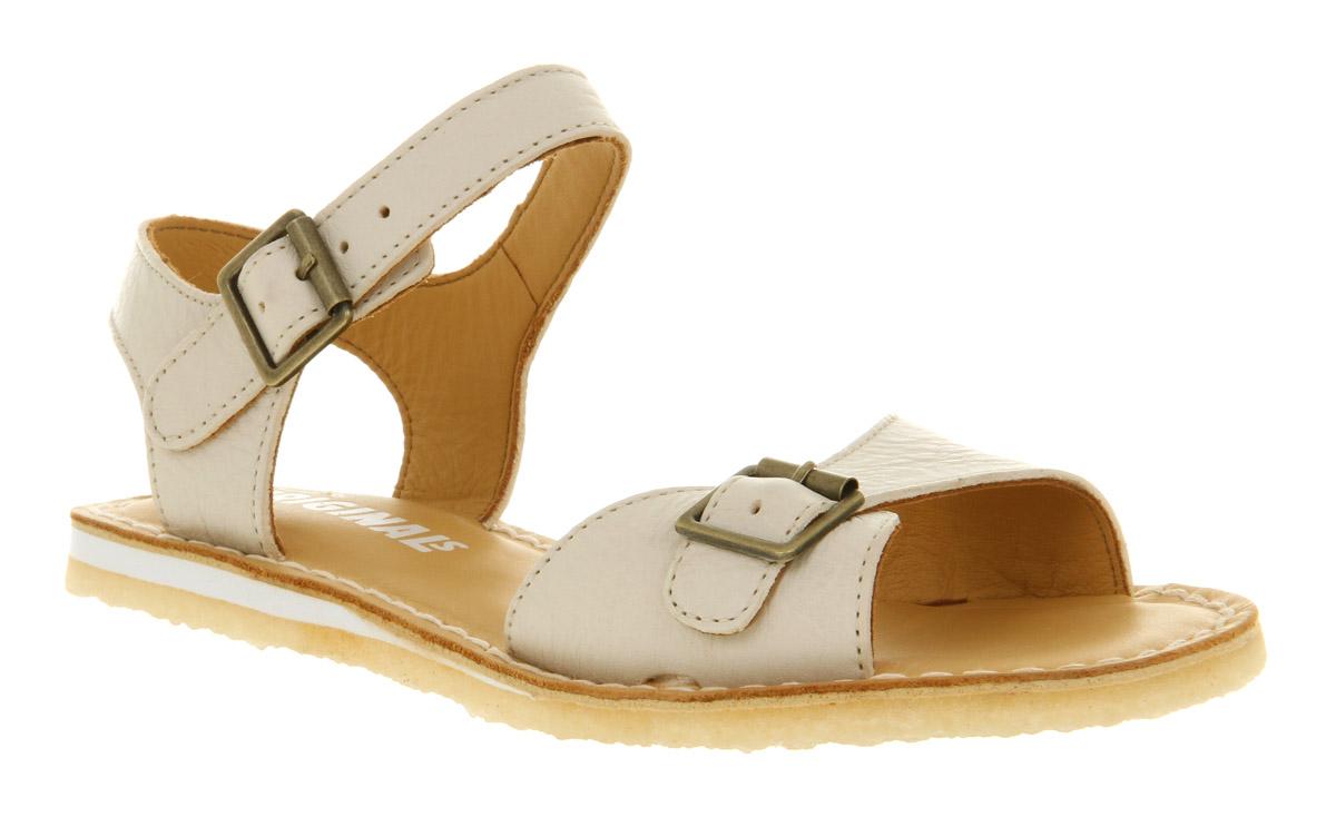 af4c4eaabd1d Clarks Kestral Soar Sandal White Leather in White - Lyst