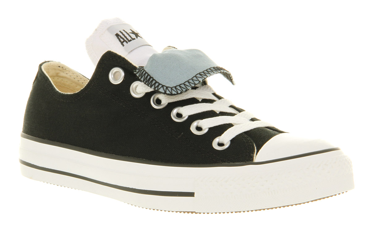 438a04daa942ef Lyst - Converse Ox Low Double Tongue Black Lead St in Black for Men