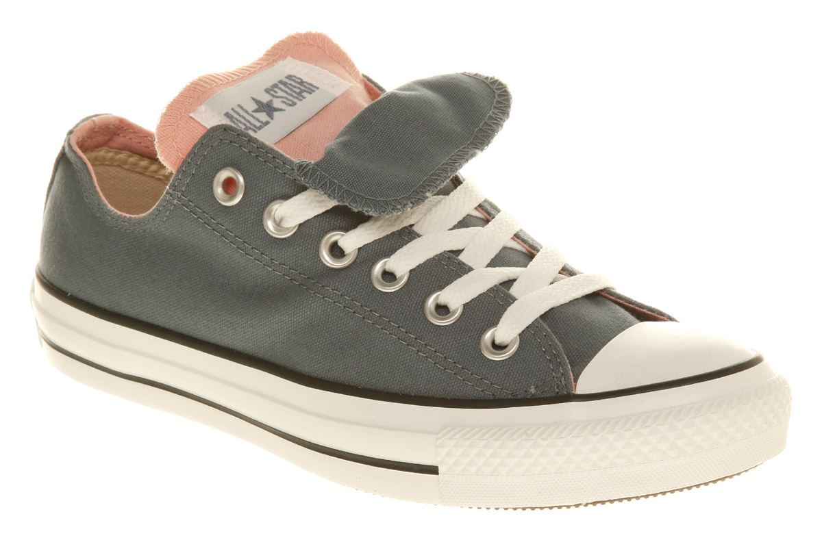 5b7c2426ddc7 Converse All Star Ox Low Double Tongue Bluepink in Blue for Men - Lyst