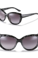 Dior Panther Print Sunglasses in Black (multi) - Lyst