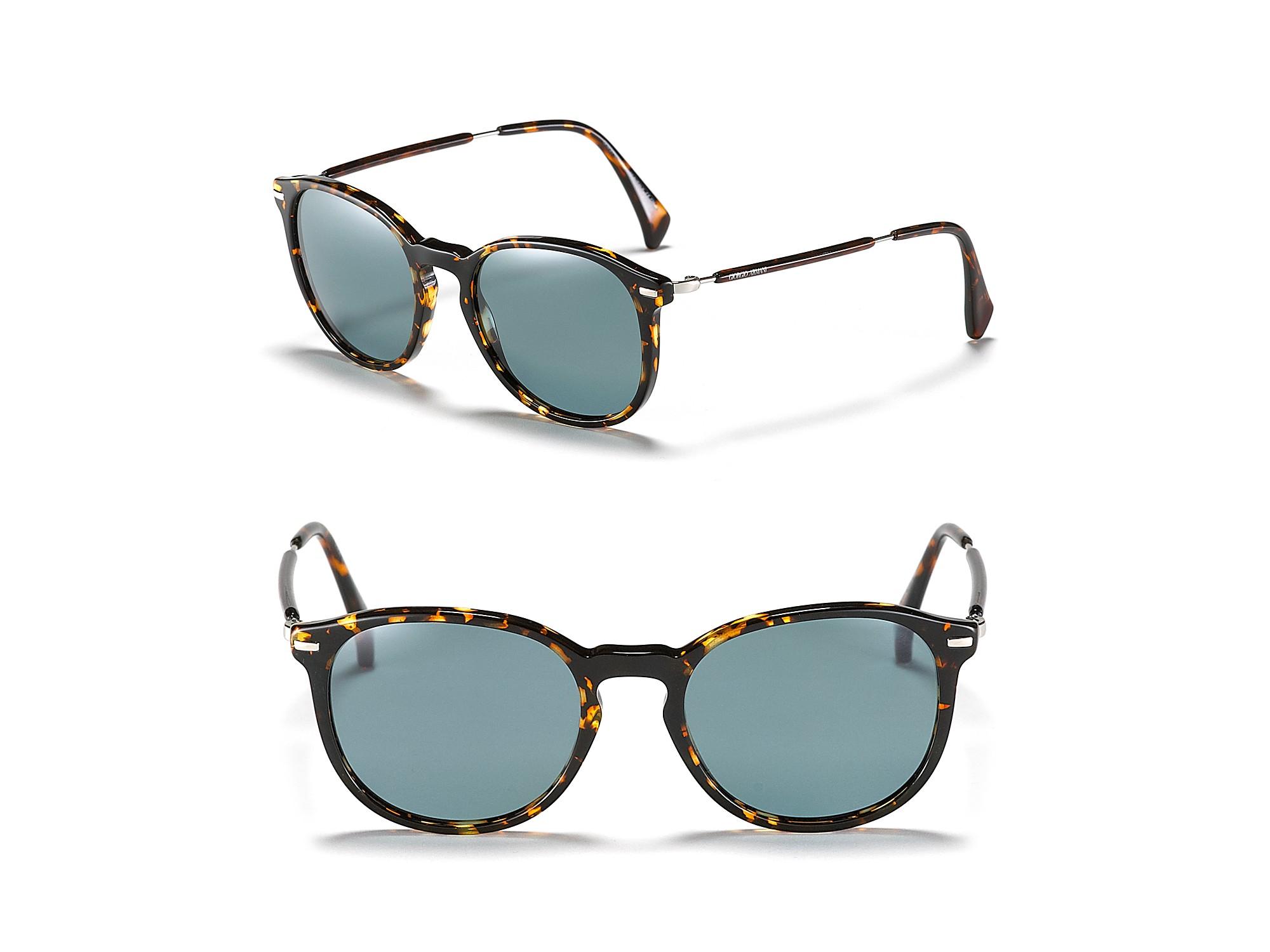 2568a65581f Gucci Havana Rounded Wayfarer Sunglasses