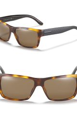 Gucci Solid Square Wayfarer Sunglasses - Lyst