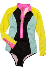 H&m Swimsuit in Multicolor (yellow) - Lyst