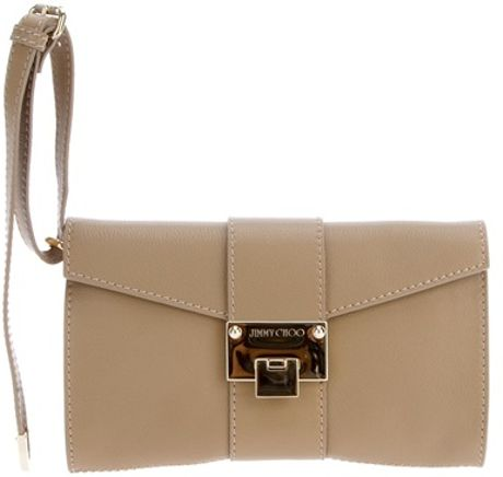 Jimmy Choo Rivera Clutch in Beige (nude) - Lyst