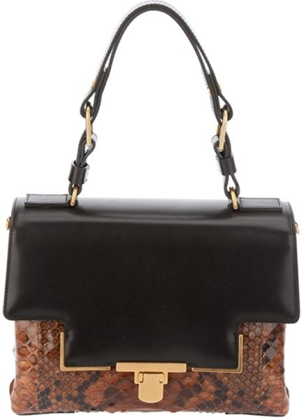 Lanvin Miss Sartorial Bag in Black - Lyst