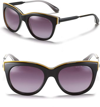 Marc By Marc Jacobs Thick Cat Eye Sunglasses - Lyst