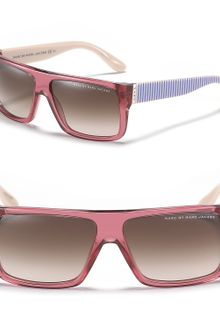 Marc By Marc Jacobs Square Wayfarer Sunglasses - Lyst