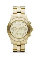 Marc By Marc Jacobs Blade Three Eye Chronograph with Stainless Steel Bracelet  - Lyst