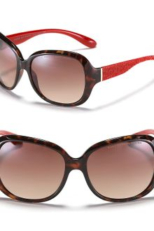 Marc By Marc Jacobs Oversized Round Havana Sunglasses - Lyst