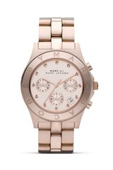 Marc By Marc Jacobs Blade Threeeye Chronograph with Stainless Steel Bracelet 40 Mm - Lyst