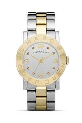 Marc By Marc Jacobs Amy Two Tone Bracelet Watch - Lyst
