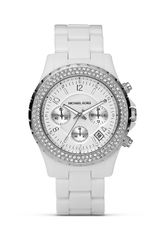 Michael Kors Michael White Chronograph Watch 42 Mm - Lyst