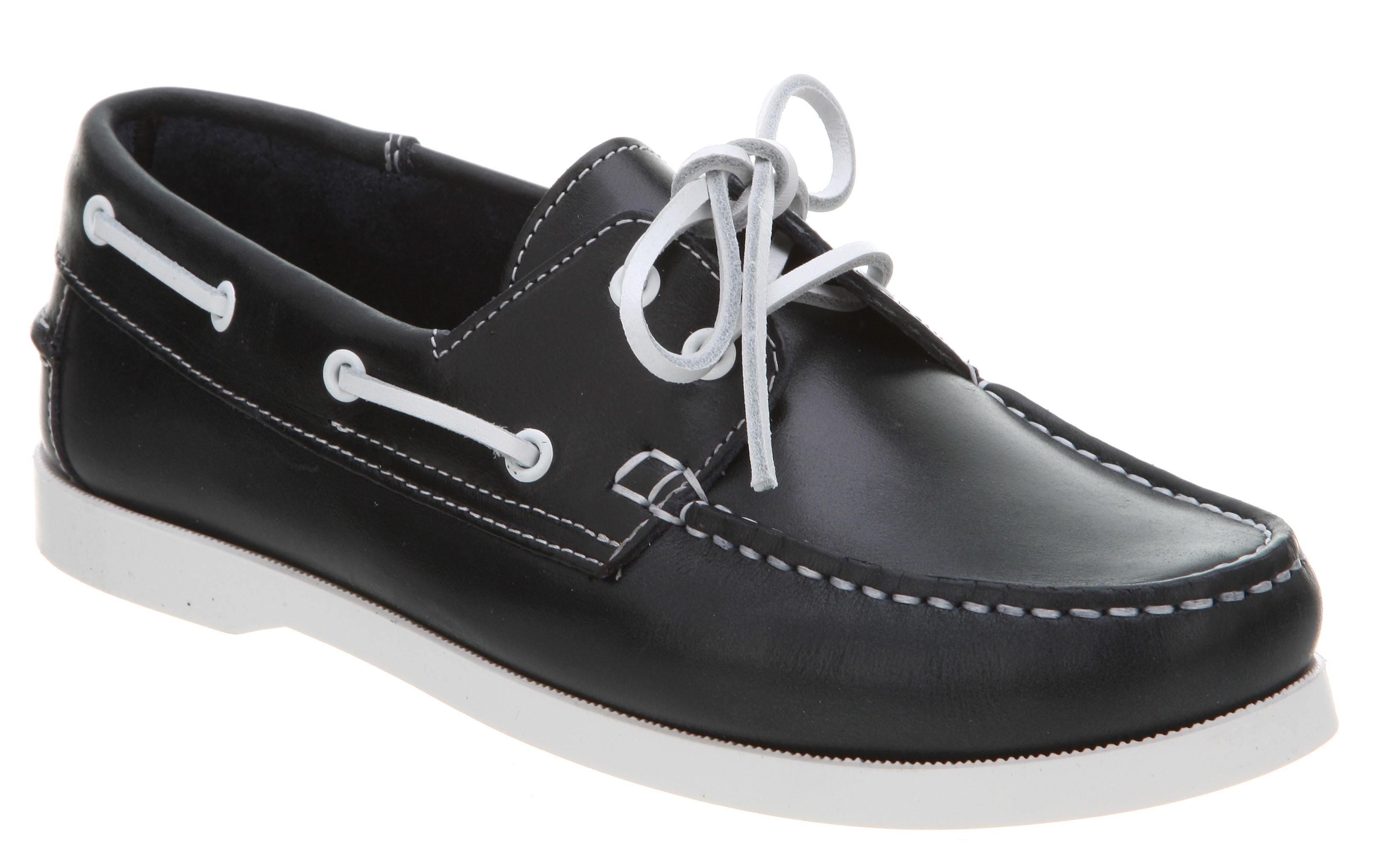 Office Yachting Boat Shoe All Navy Blue Leather in Blue for Men | Lyst
