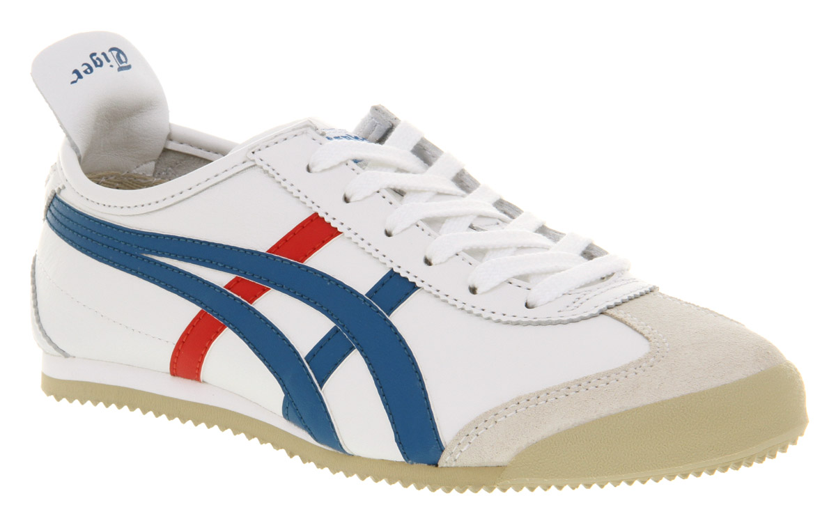 onitsuka tiger mexico 66 in white for men lyst. Black Bedroom Furniture Sets. Home Design Ideas