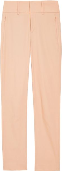Rag & Bone Malin Cropped Cottonblend Skinnyleg Pants in Beige (blush) - Lyst