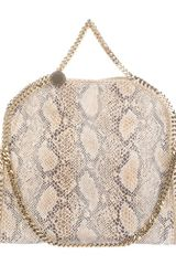 Stella Mccartney Animal Print Bag in Beige (animal) - Lyst