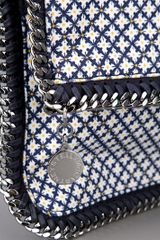 Stella Mccartney Clutch in Blue - Lyst
