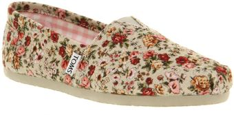 Toms Seasonal Classic Slip On  - Lyst