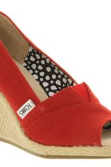 Toms Wedge  - Lyst