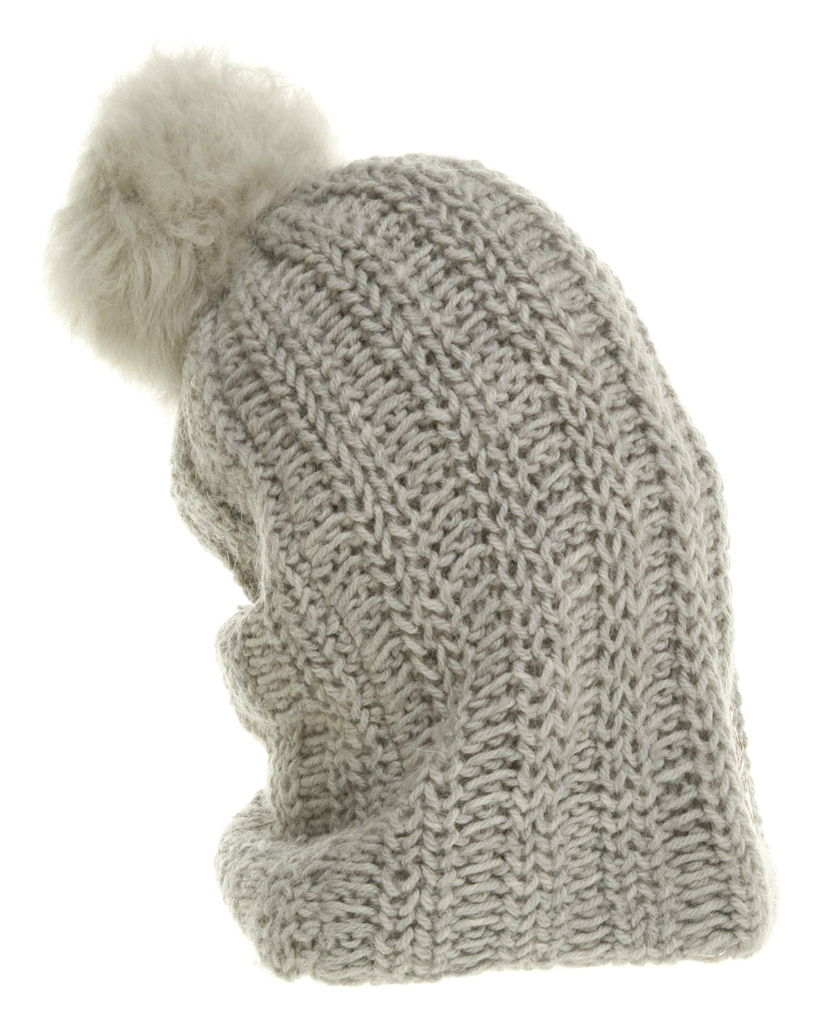 f17997bc62385 Lyst - UGG Cardy Oversized Beanie Seal Knit in Gray