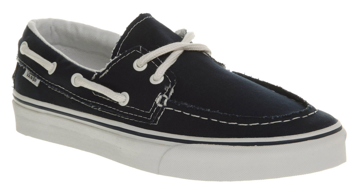 Blue Zapato Lyst In Navywhite Barco Vans Del qYYr65xgw