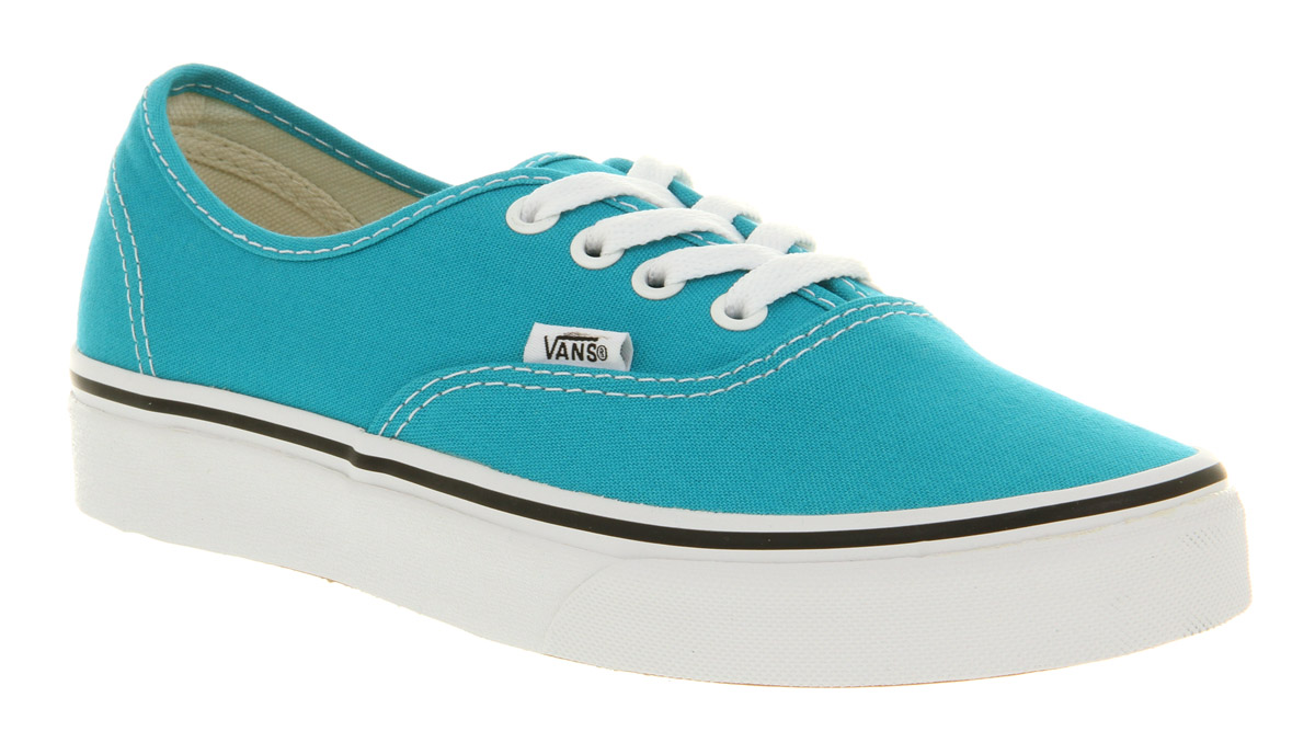 d9fb4916d1 Lyst - Vans Authentic Peacock Bluwht in Blue for Men