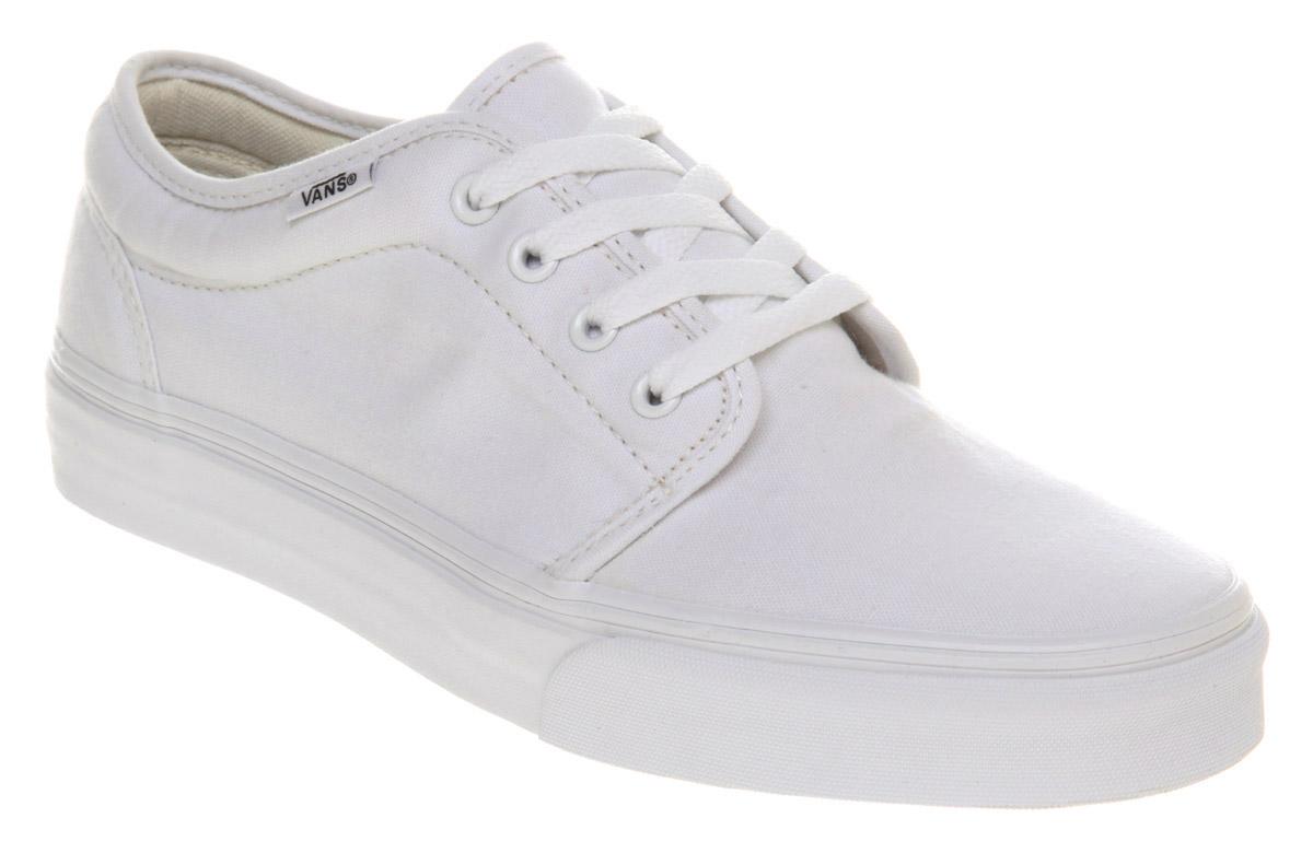 92b7fc80c2 Lyst - Vans 106 Vulcanized True White in White for Men