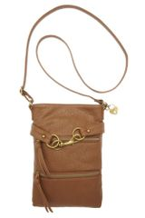 American Rag Taryn Crossbody in Brown (dark tan) - Lyst