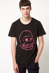 Cheap Monday Cheap Monday Bruce Skull Tshirt - Lyst