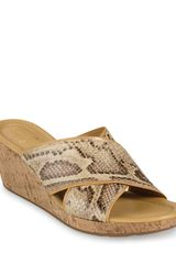 Cole Haan Slides Air Britney Wedge - Lyst