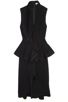 Givenchy Sleeveless Peplum Dress - Lyst